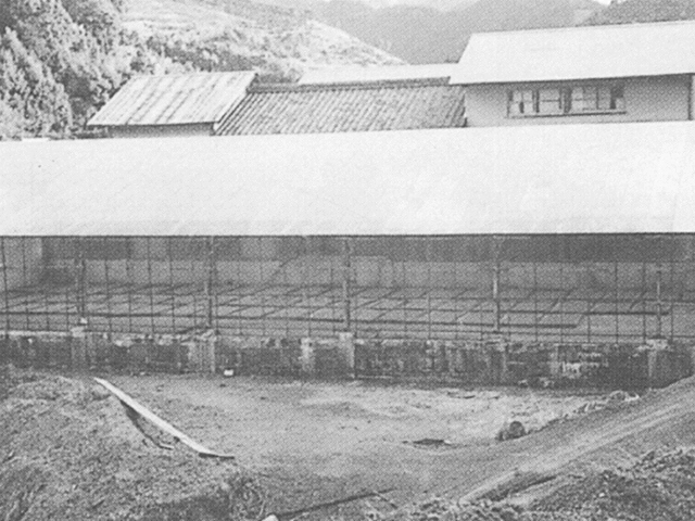 初代ビニールハウス